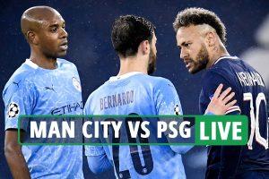 Man City vs PSG LIVE: Stream FREE, score, TV channel as Pep's men lead through Mahrez – Champions League latest updates
