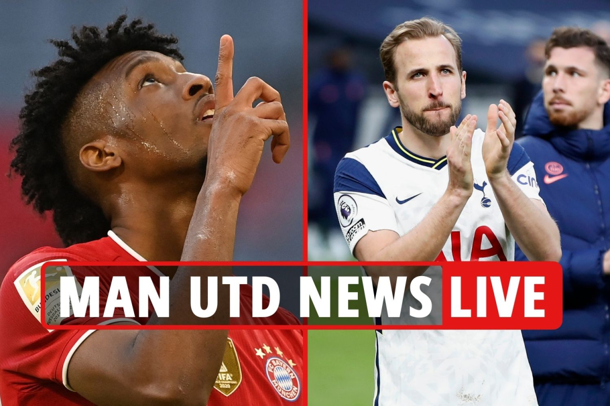 Man Utd 'step up' Coman bid, United battle Chelsea for £86m Sancho, Kane and Ronaldo LATEST – transfer updates