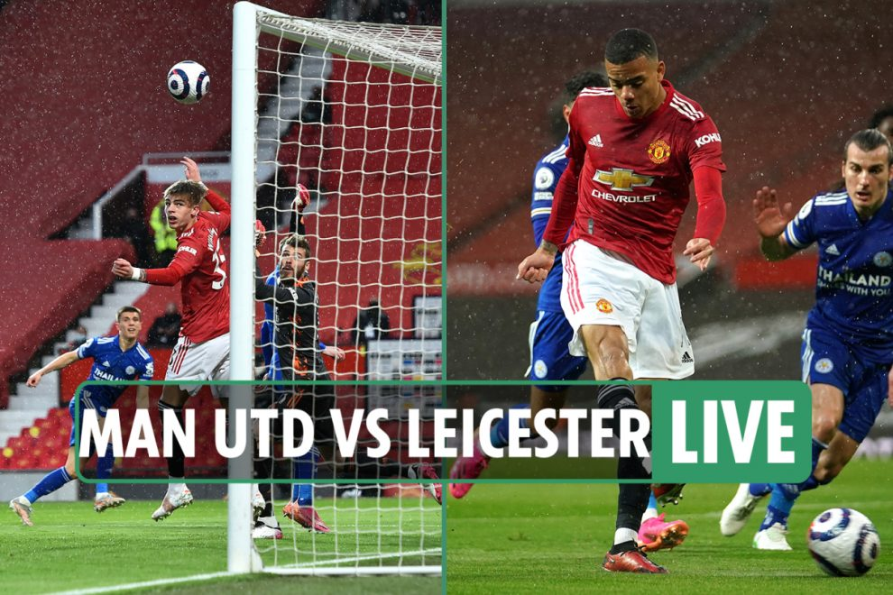 Man Utd vs Leicester LIVE: Stream FREE, score, TV channel as Greenwood equalises – Premier League latest updates