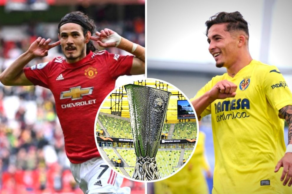 Man Utd vs Villarreal FREE – Europa League final: Live stream, TV channel, team news and kick-off time for match TONIGHT