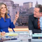 Piers Morgan sends his former GMB co-star Charlotte Hawkins a special message with cheeky snap