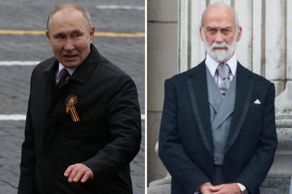Queen's cousin Prince Michael of Kent of accused of charging £50,000 to 'introduce businessmen to Vladimir Putin'
