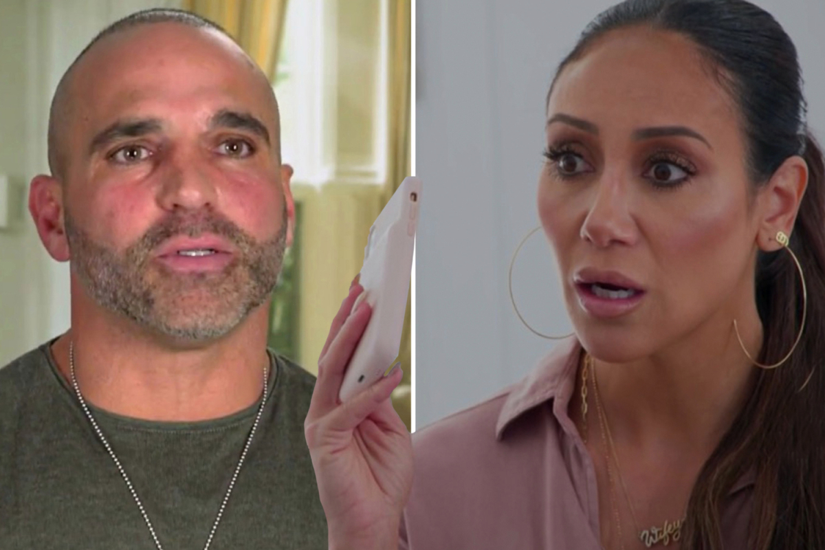 RHONJ's Joe Gorga rushed to hospital in 'excruciating pain' for a 'stone' as wife Melissa ditches pals to be by his side