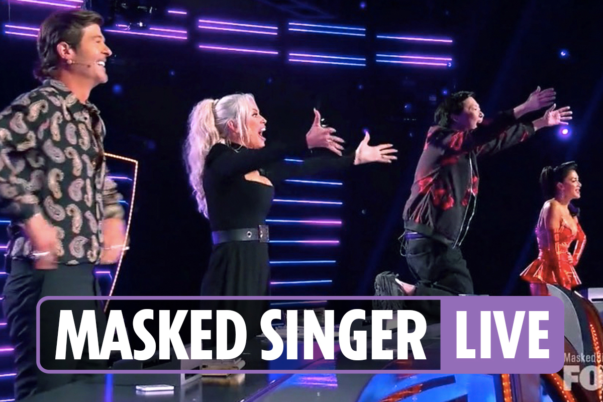The Masked Singer season 5 finale live updates – Chameleon, Piglet and Black Swan compete to win