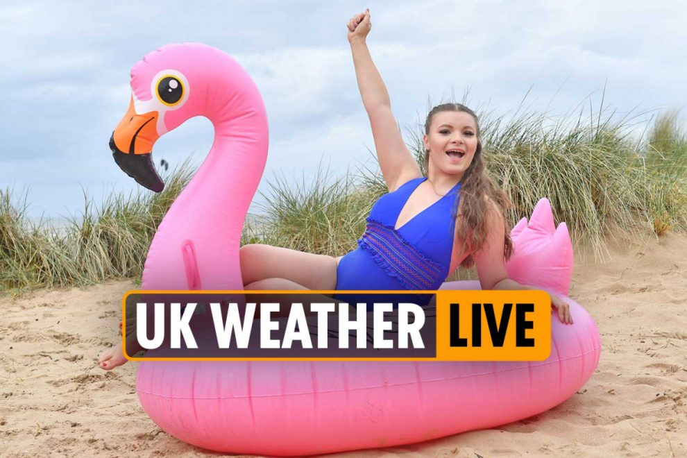 UK weather forecast live – Mercury to hit 22C this weekend after Britain is battered by downpours and high winds
