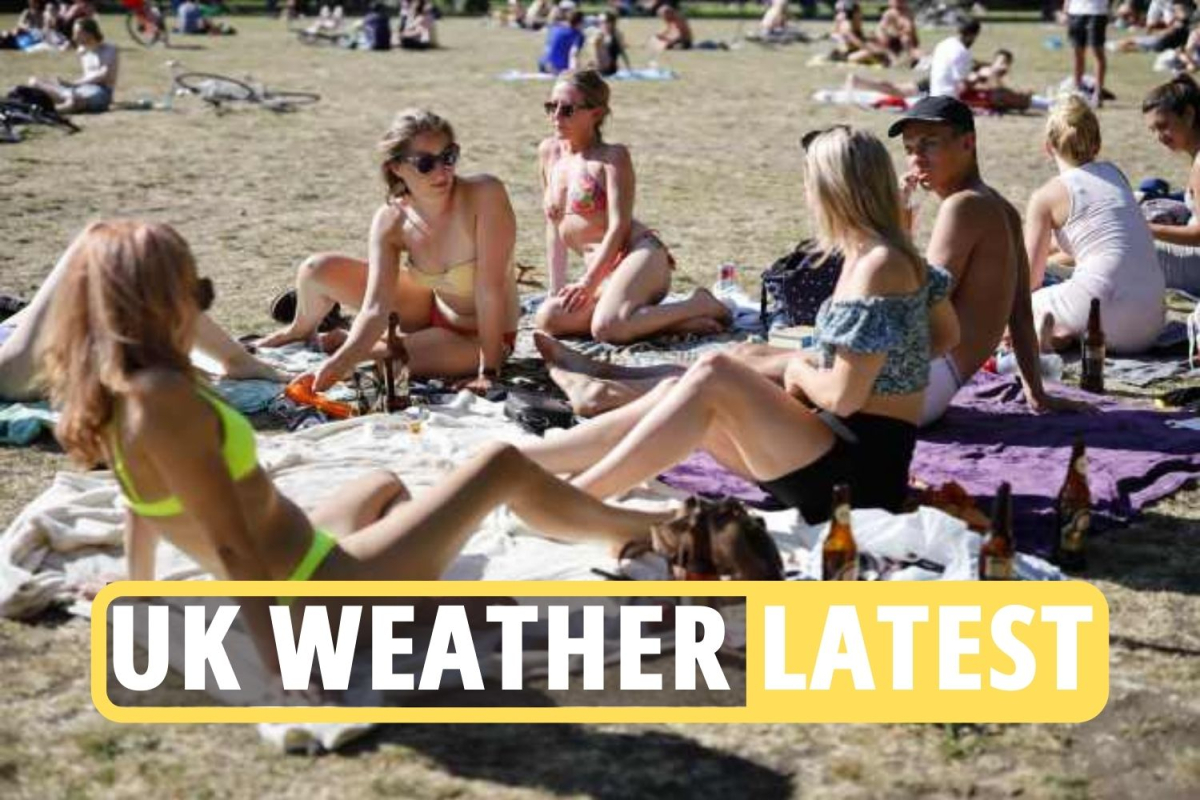 UK weather forecast news LIVE –  Get ready for ROASTING 20C May Bank Holiday HEATWAVE after more wind and rain this week