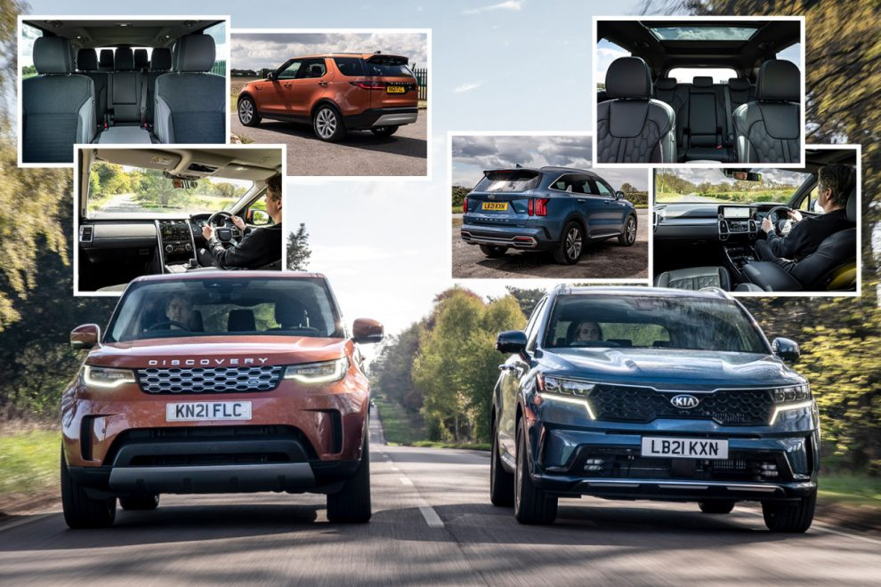Which is the best 7-seater? We test Land Rover Discovery S & Kia Sorento 4