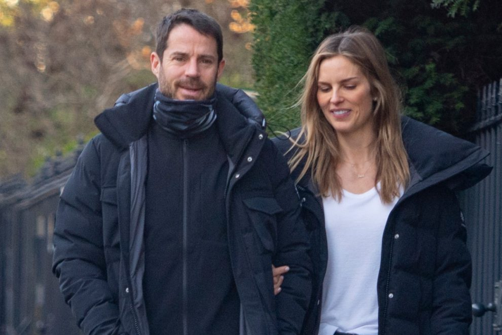 Who is Jamie Redknapp's girlfriend Frida Andersson-Lourie?