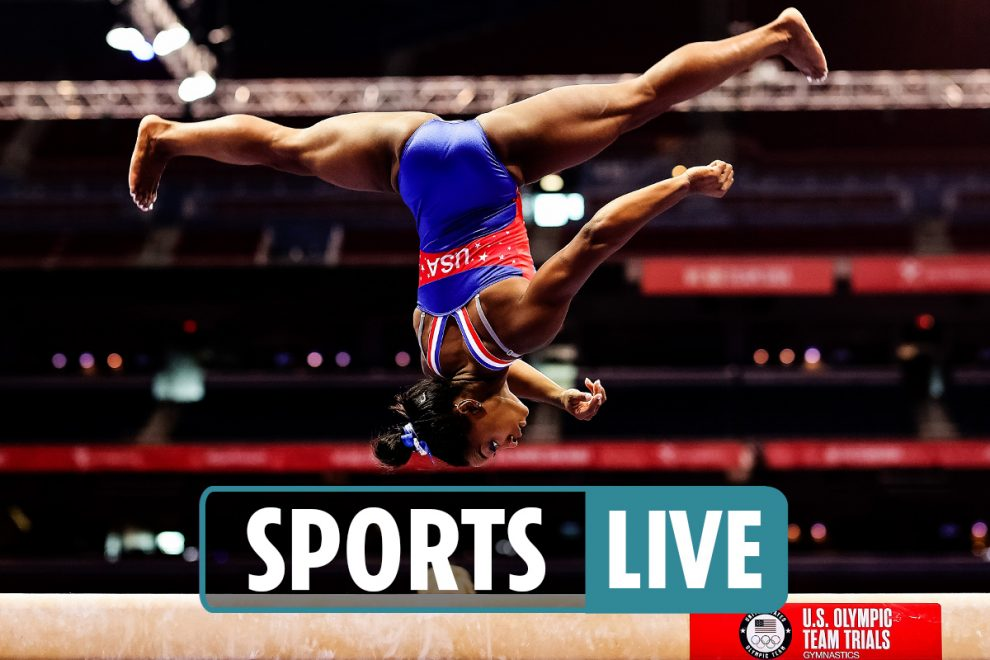 2021 US Gymnastics Olympic Trials Live – Competitors brace to secure spot in Tokyo 2021 arena