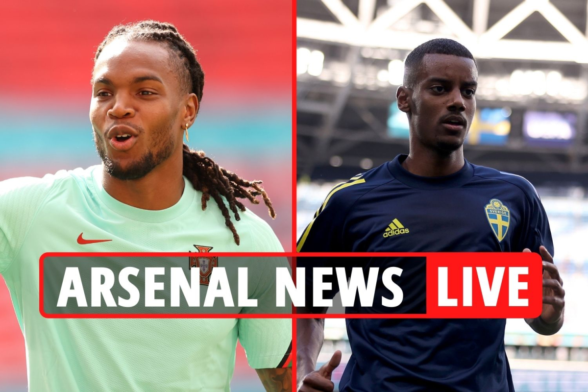 Arsenal target Renato Sanches transfer, Isak battle with Real Madrid, White to cost £50m plus add-ons