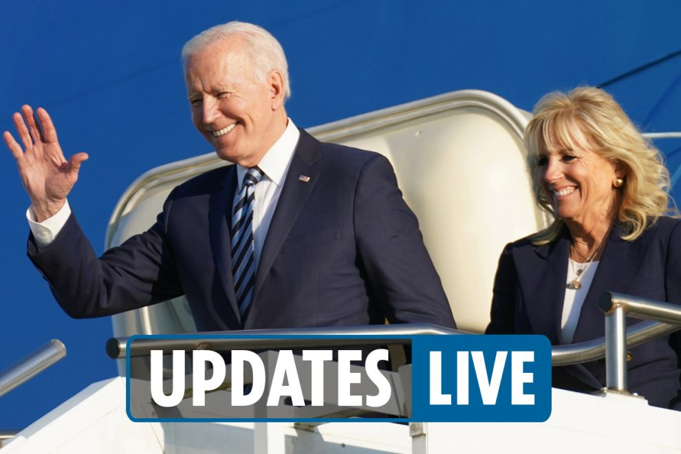 Biden UK trip LIVE – Joe arrives for G7 summit and Queen meeting after chilling warning to Putin & China