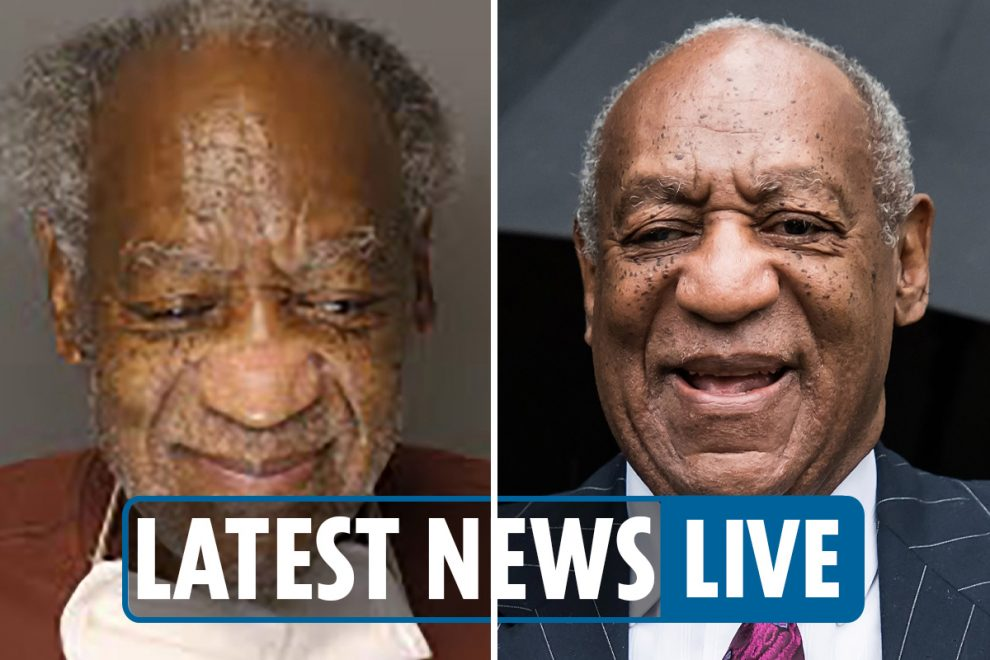 Bill Cosby released LIVE – Disgraced star SET FREE from Pennsylvania prison after conviction overturned