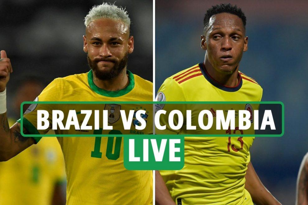 Brazil vs Colombia LIVE: Stream FREE, TV channel, kick-off time for TONIGHT'S Copa America clash