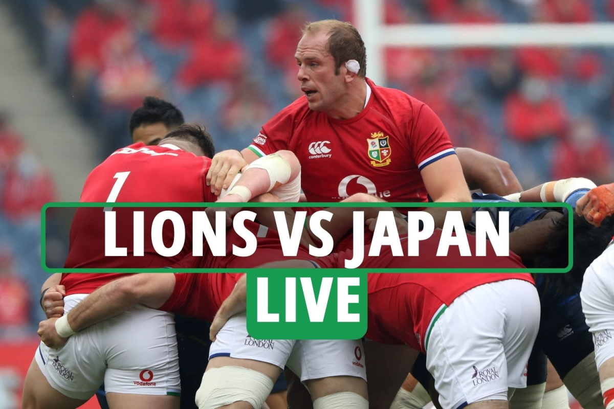 British and Irish Lions vs Japan rugby LIVE SCORE: Stream FREE, TV channel, score and teams – 1888 Cup latest
