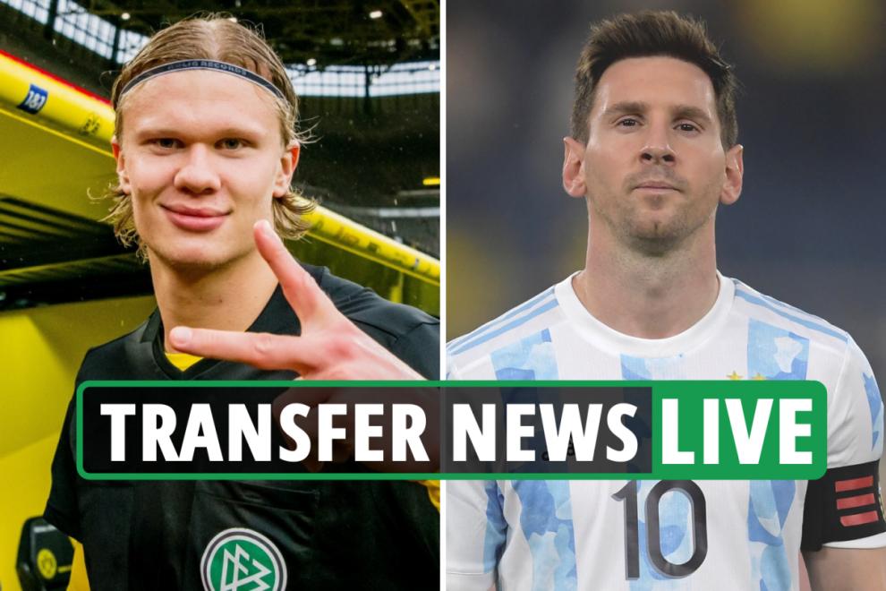 Chelsea lead £56m Hakimi race, Haaland LATEST, Lionel Messi EXCLUSIVE, Fonseca to Tottenham – transfer news live