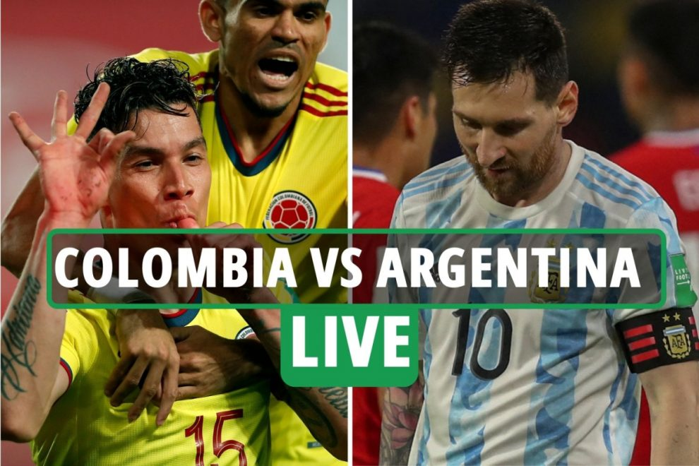 Colombia vs Argentina LIVE: Stream, TV channel, kick-off time as Lionel Messi STARTS World Cup qualifier