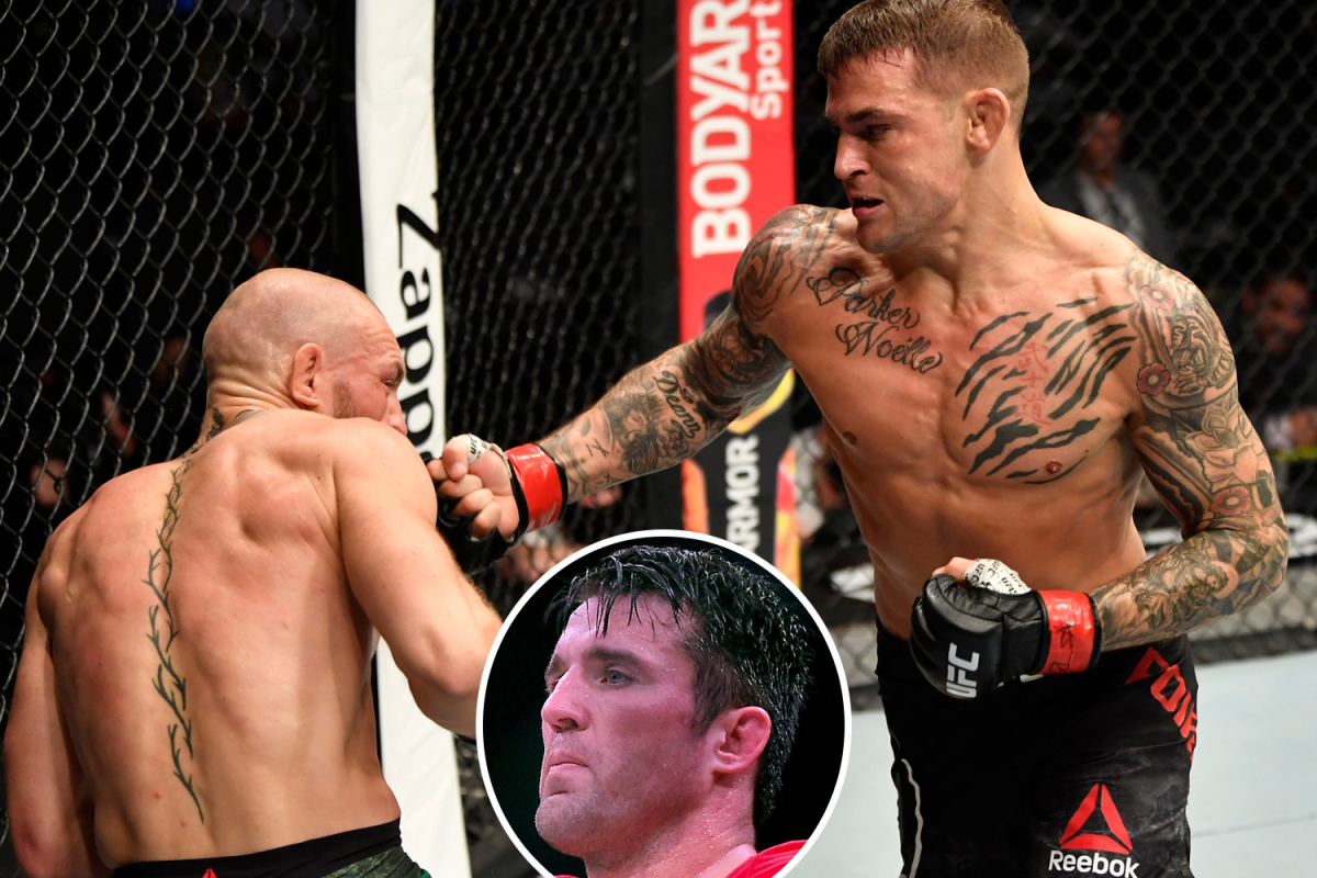 Conor McGregor 'looking for door' and QUIT in Dustin Poirier rematch after going 'into panic mode', says Chael Sonnen