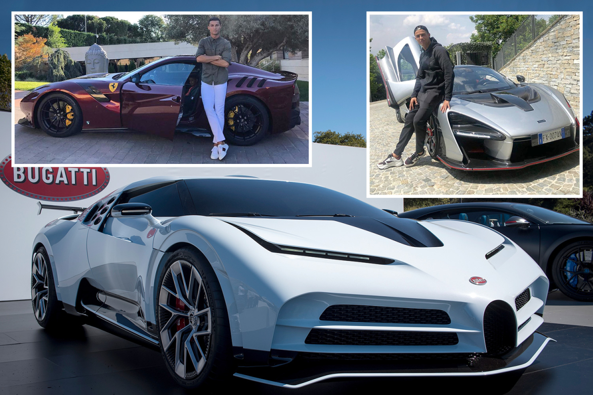 Cristiano Ronaldo's amazing car collection worth £17m after splashing out on limited edition Ferrari Monza worth £1.4m
