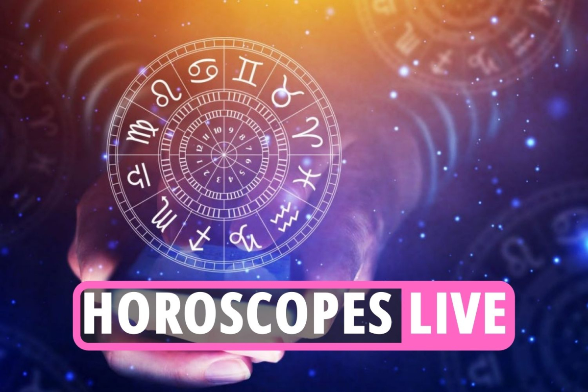 Daily horoscope LIVE – Star sign news and updates for Aries, Gemini, Virgo, Cancer, Taurus, Scorpio, Capricorn and more