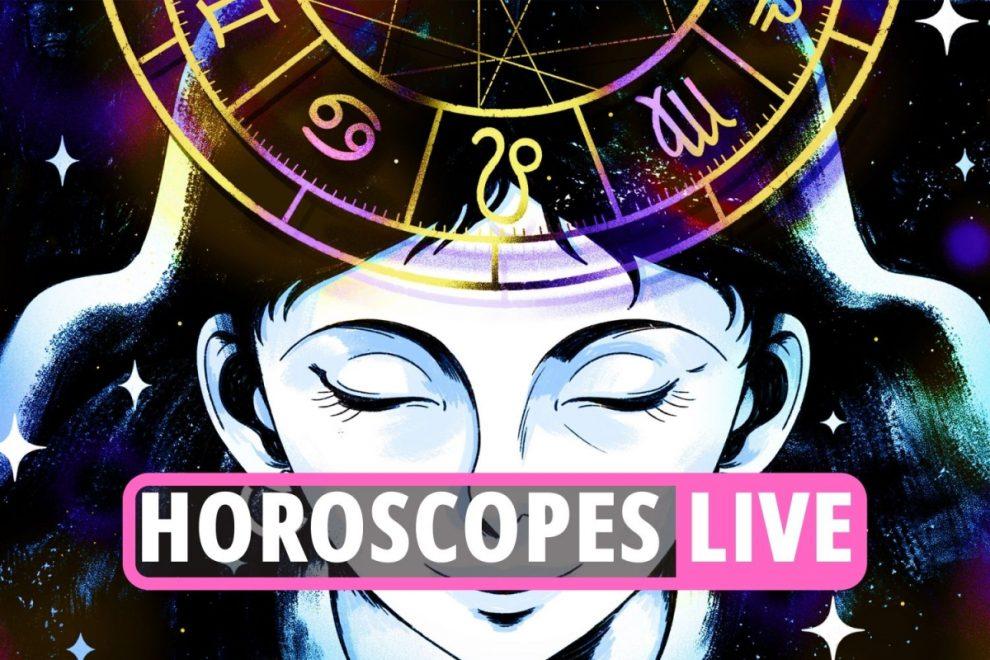 Daily horoscope LIVE – Star sign news and updates for Gemini, Cancer, Aries, Capricorn, Virgo, Taurus, Scorpio and more