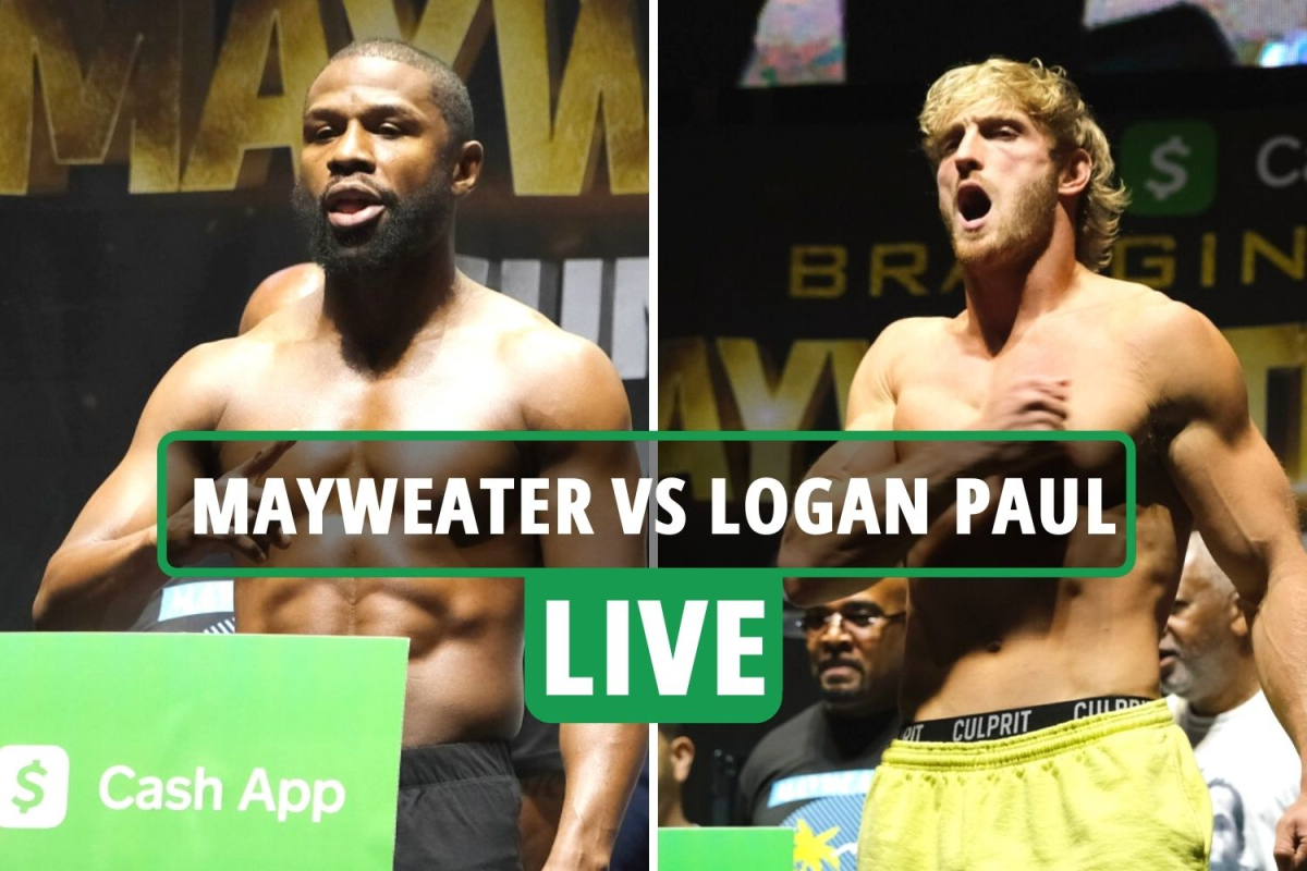 Floyd Mayweather vs Logan Paul LIVE RESULTS: Latest build-up, updates, live stream details for huge Miami fight