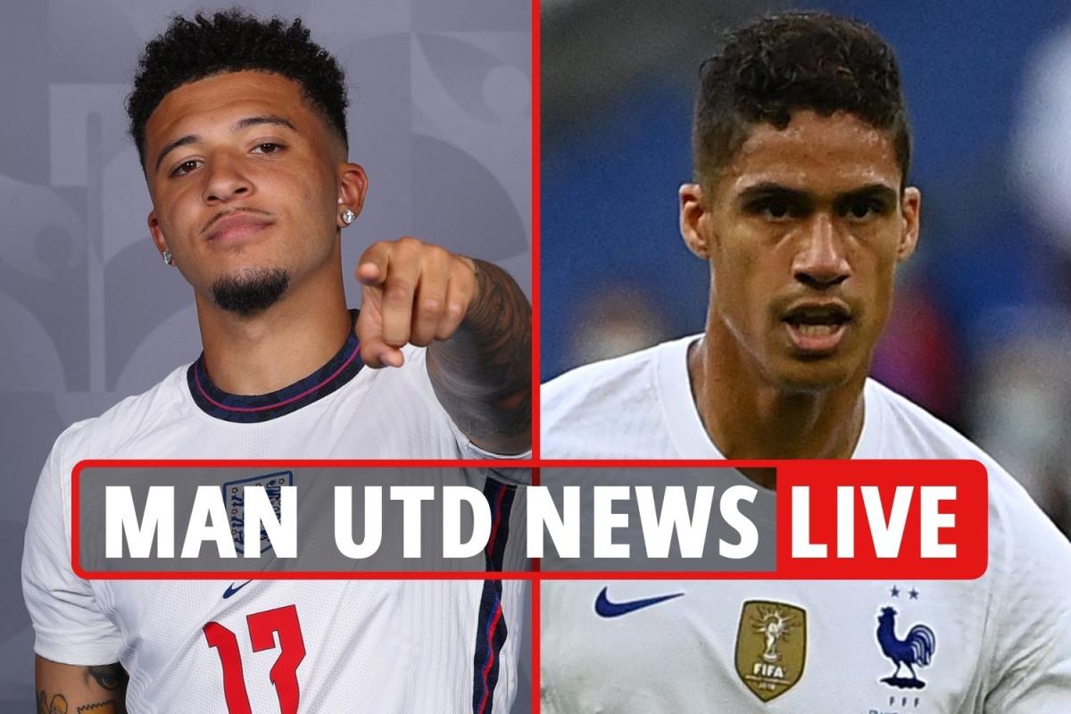 Man Utd AGREE £91m Sancho transfer, Varane available for £52m, Trippier £10m bid rejected – transfer news live