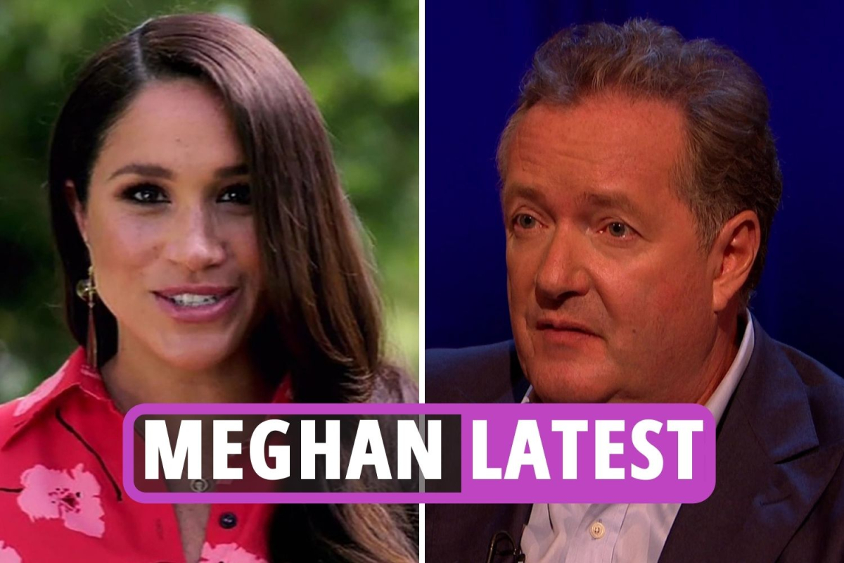 Meghan Markle latest news – Piers Morgan says Duchess and Prince Harry are 'marching around like they're Kim Jong-un'