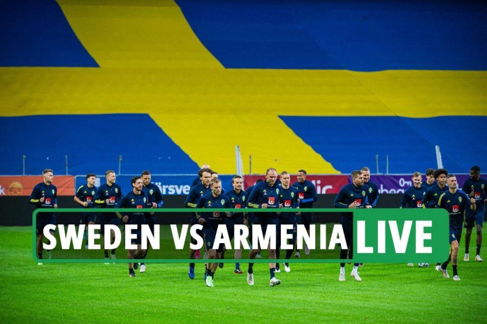 Sweden vs Armenia LIVE: Stream, TV channel, team news as match UNDERWAY – Euro 2020 warm-up latest updates