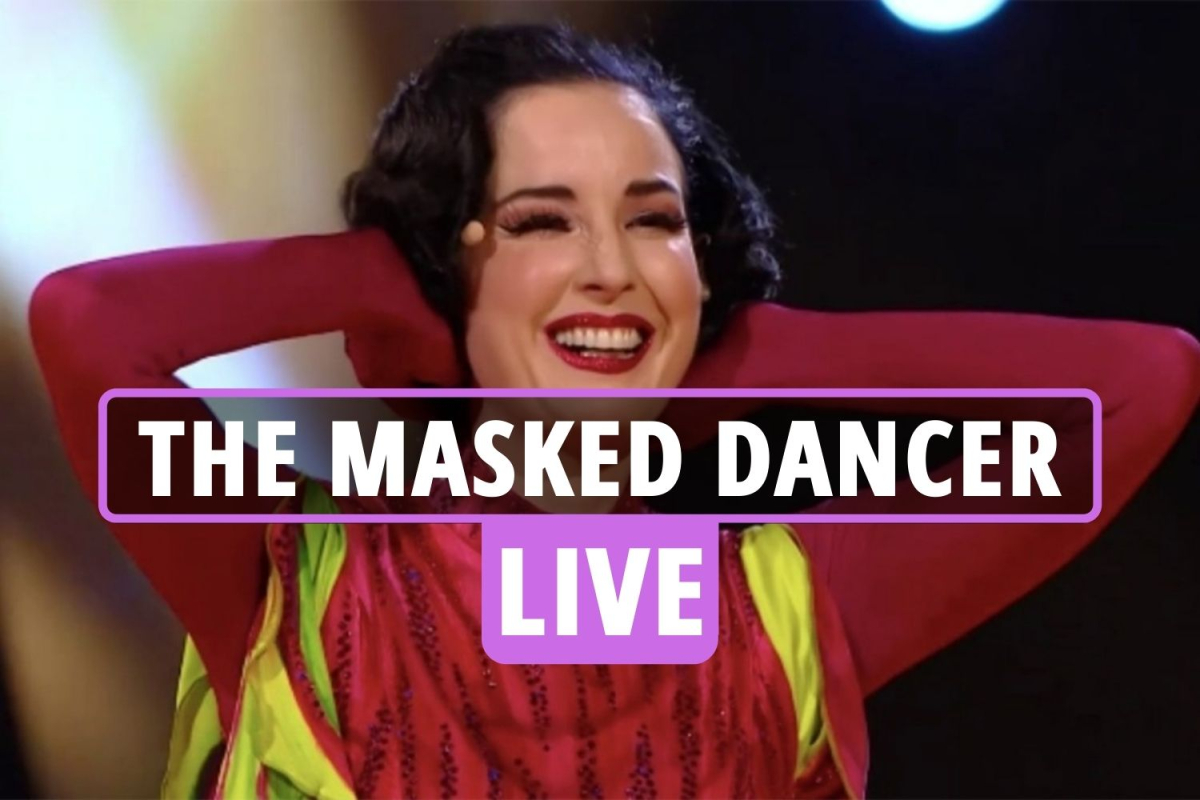 The Masked Dancer LIVE: Dita Von Teese revealed as Beetroot after Knickerbocker Glory survives