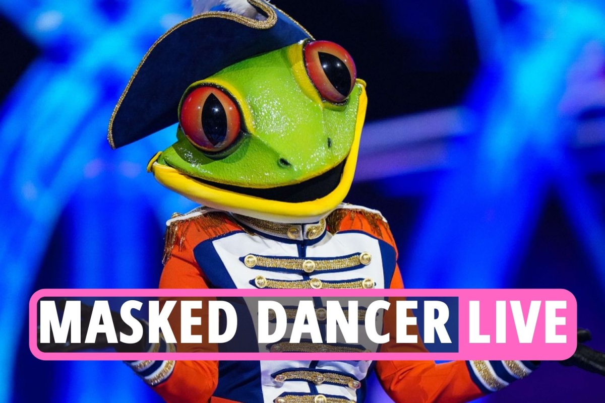 The Masked Dancer LIVE: Zoe Ball unmasked as Llama and Christopher Dean as Beagle in shock double elimination tonight