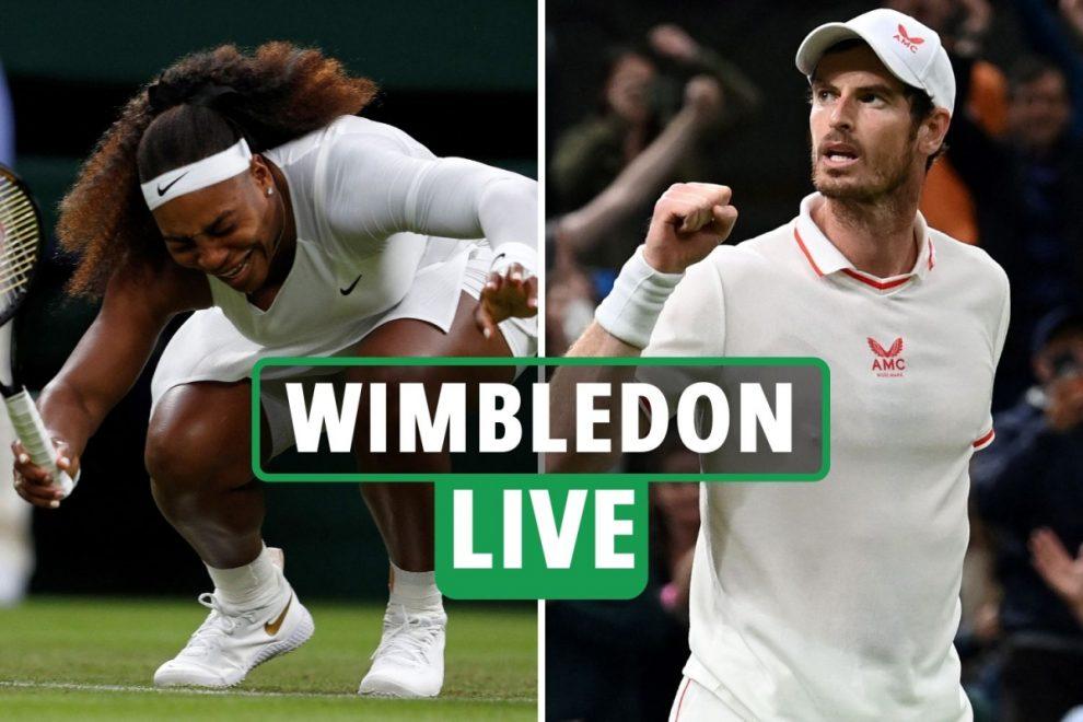 Wimbledon 2021 LIVE RESULTS: Novak Djokovic vs Kevin Anderson LATEST, Murray up next, Serena Williams injury latest