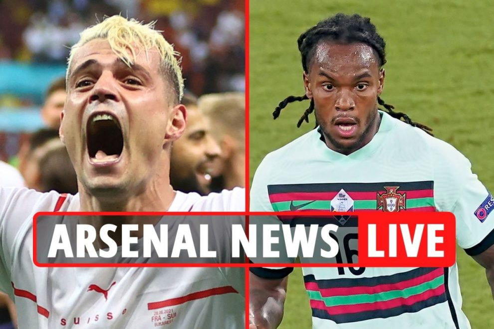 Xhaka to Roma LATEST, Arsenal target Renato Sanches transfer, Isak battle with Real Madrid, Ben White to cost £50m