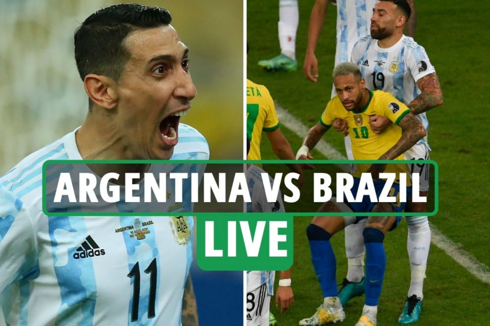 Argentina vs Brazil LIVE: Stream FREE, TV channel as Di Maria LOBS opener in Copa America final in Rio – latest updates