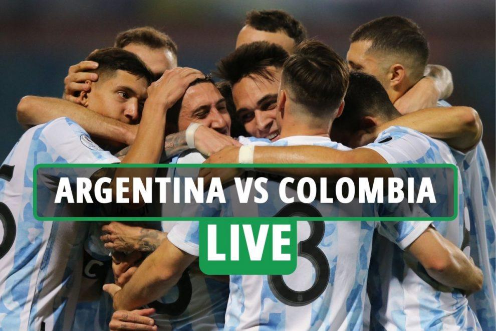 Argentina vs Colombia LIVE: Lionel Messi creates Lautaro Martinez's opener in Copa America semi-final clash