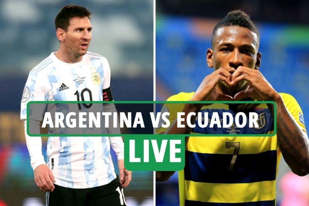 Argentina vs Ecuador LIVE: Stream free, TV channel, score and kick-off time – Copa America quarter-final latest