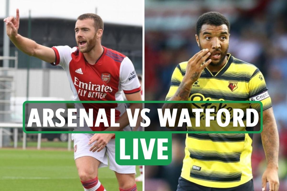 Arsenal vs Watford LIVE: Stream, TV channel, score and teams as Elneny gifts Zinckernagel equaliser