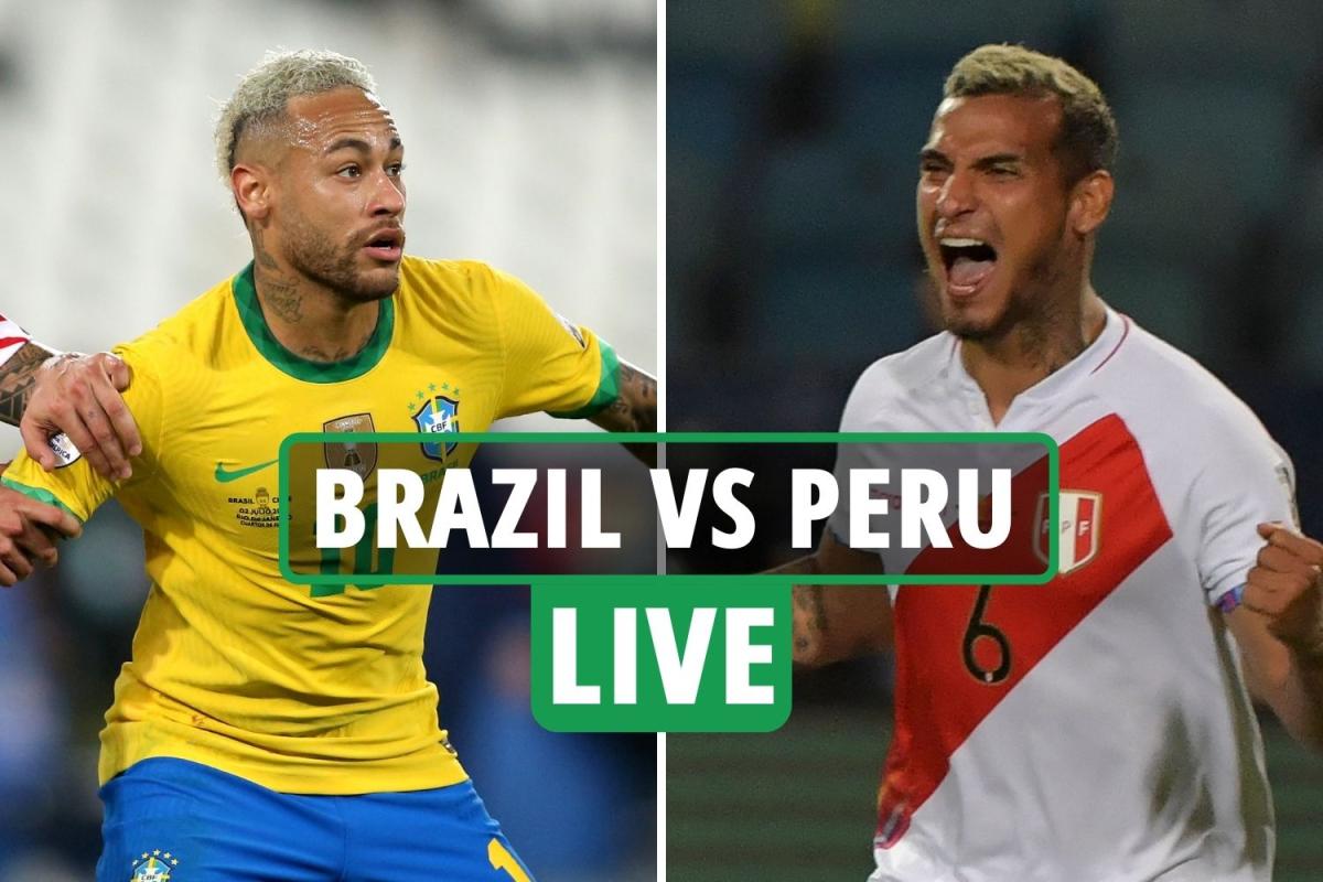 Brazil vs Peru LIVE SCORE: Neymar's brilliant assist for Lucas Paqueta's opener puts Selecao ahead