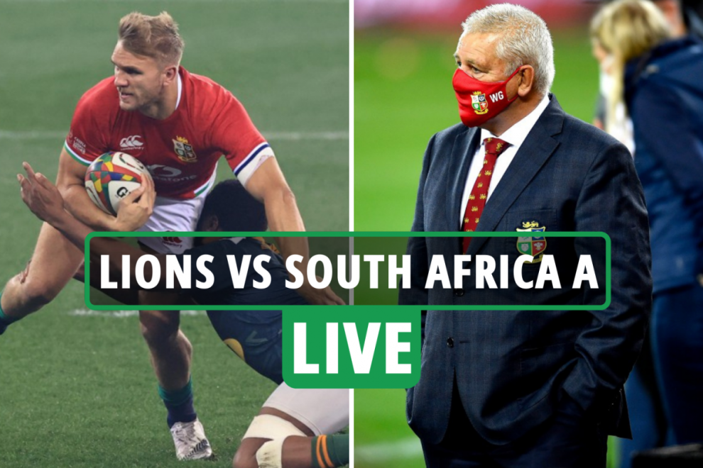 British and Irish Lions 3-17 South Africa A rugby LIVE: Stream, TV channel, score, teams as game UNDERWAY – updates