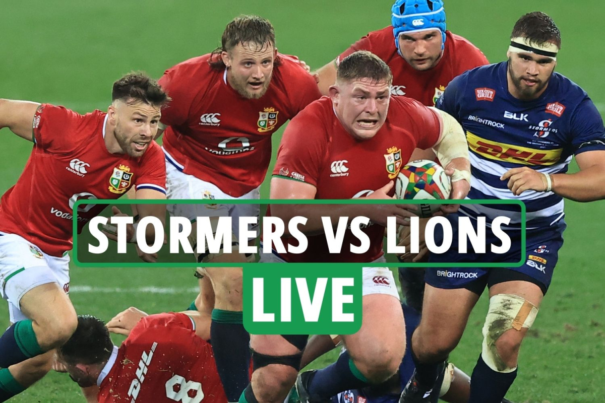 British and Irish Lions vs Stormers LIVE: Stream, TV channel as Alun Wyn Jones comes ON for Lions after fourth try