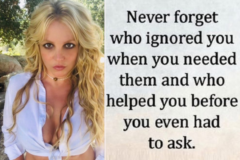 Britney Spears tells fans to 'never forget who ignored you when you needed them' after conservatorship victory