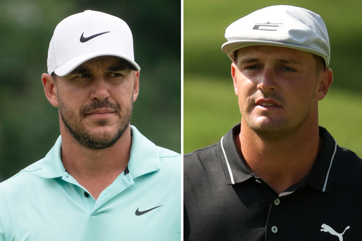 Brooks Koepka continues feud with golf rival Bryson DeChambeau by mocking sudden split from caddie