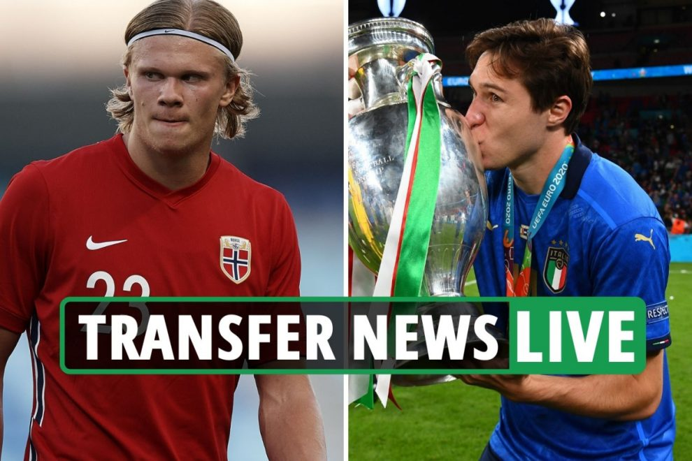 Chelsea £85m Chiesa BID, Blues also in for £150m Haaland, Bayern look for Lewandowski replacement – transfer news live