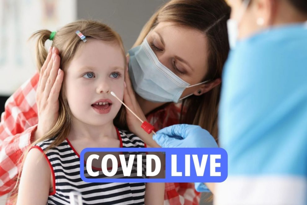 Coronavirus UK news – HUGE test and trace app change coming for vaccinated Brits amid fears pings will cripple economy