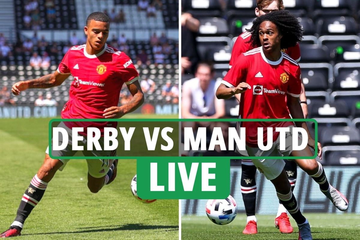 Derby vs Man Utd LIVE SCORE: Chong and Pellistri goals give United two-goal lead – TV and stream