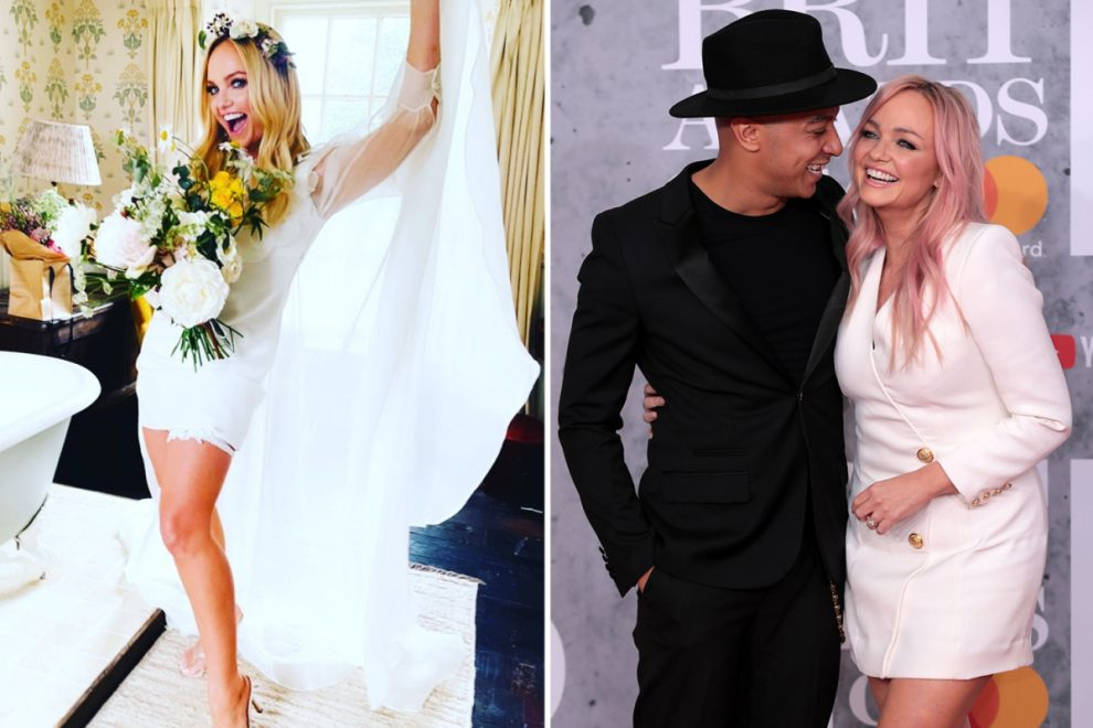 Emma Bunton talks about her secret wedding for the first time and says it was 'so romantic'