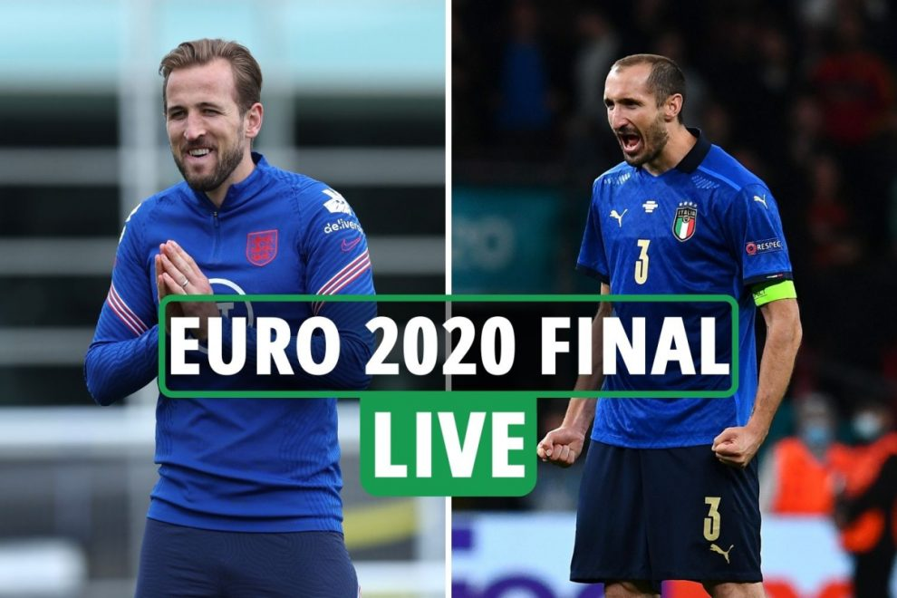 Euro 2020 final build-up LIVE: England vs Italy set to break UK viewing record with 44 MILLION expected to tune in