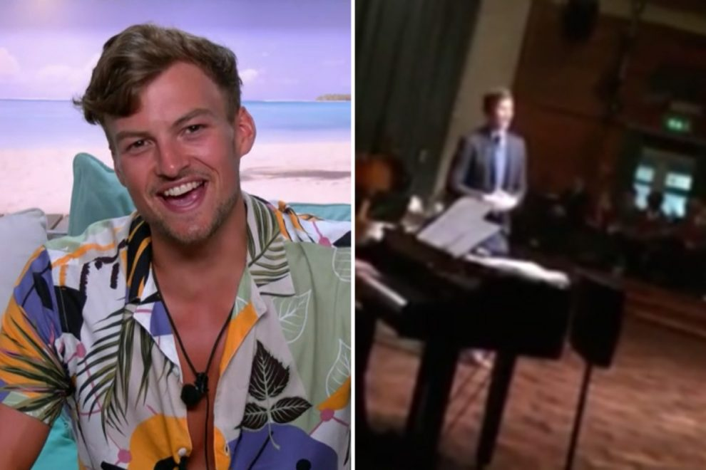 Hugo Hammond shows off his incredible voice as he sings Sam Smith song in unearthed clip
