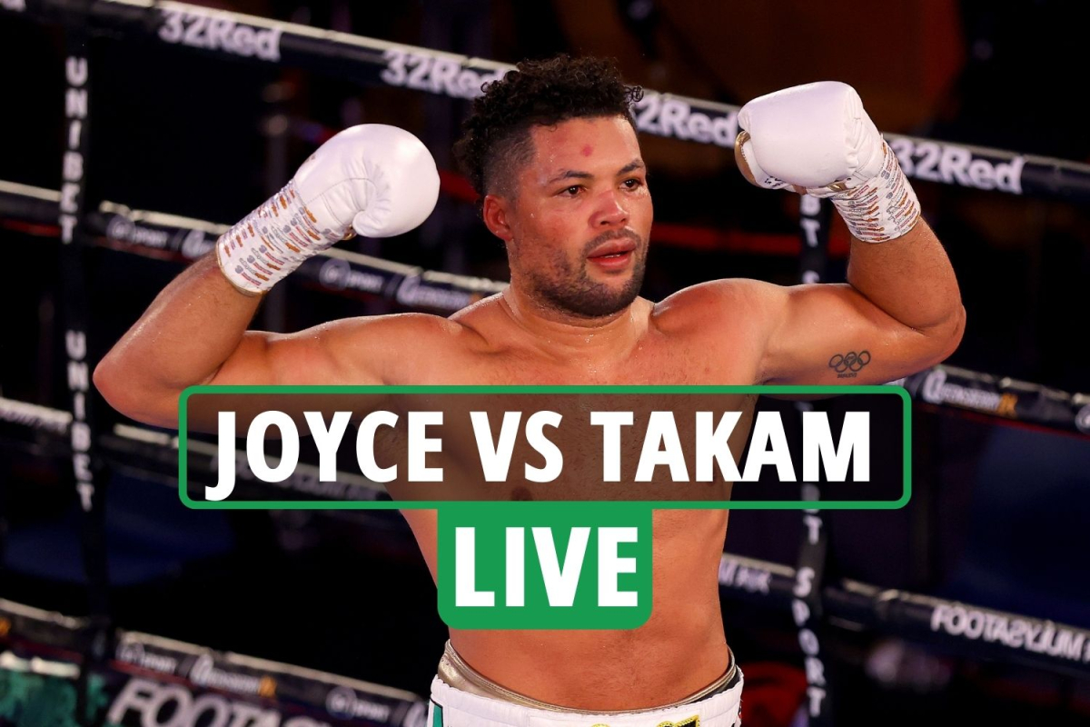 Joe Joyce vs Carlos Takam LIVE RESULTS: Stream FREE, TV channel as undercard underway at Wembley – latest updates