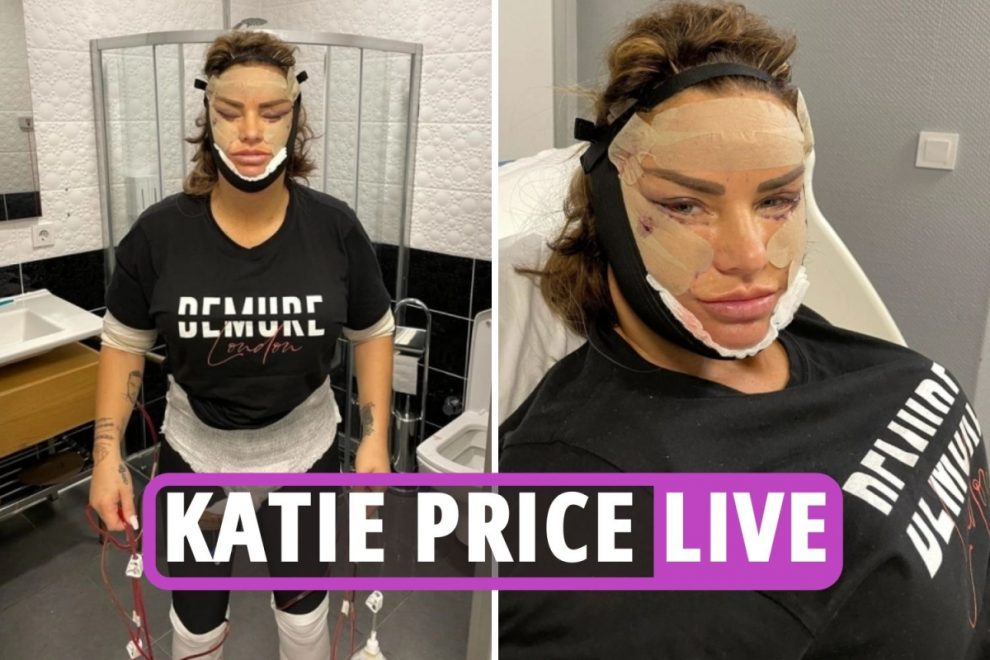 Katie Price surgery latest – Star in 'HORRENDOUS pain' and convinced she would die after latest major cosmetic surgery