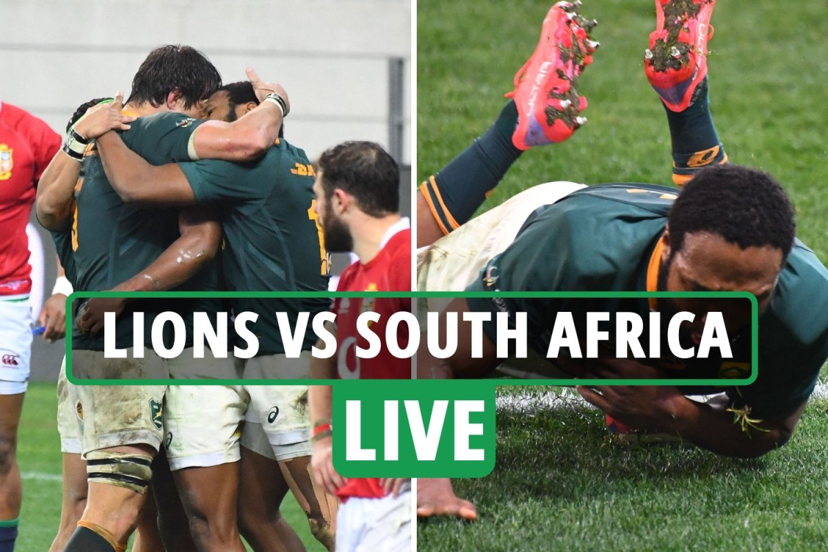 Lions 9-21 South Africa rugby LIVE SCORE: Mapimpi and Am tries put Springboks in command – 2nd test latest updates